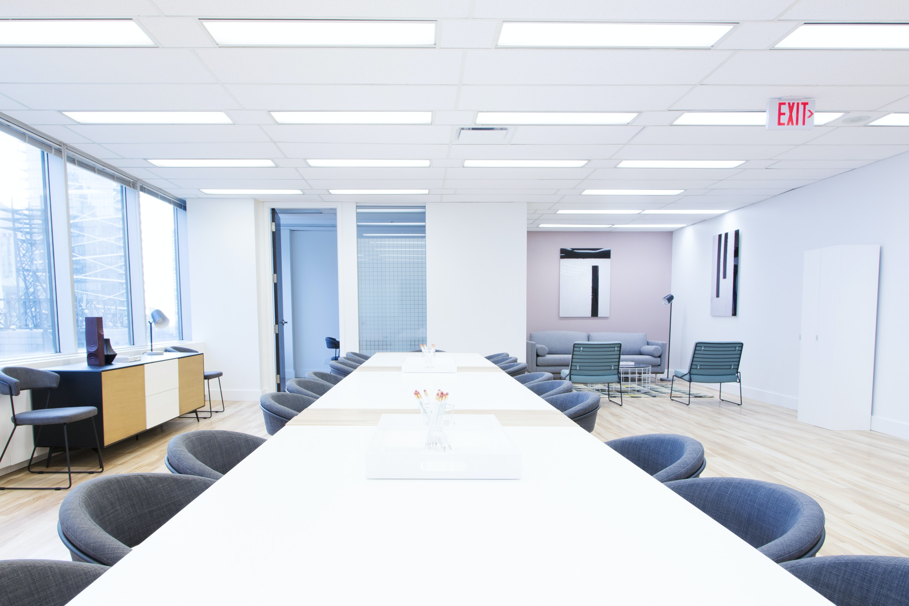 meetup space at 181 University Ave. ,Toronto