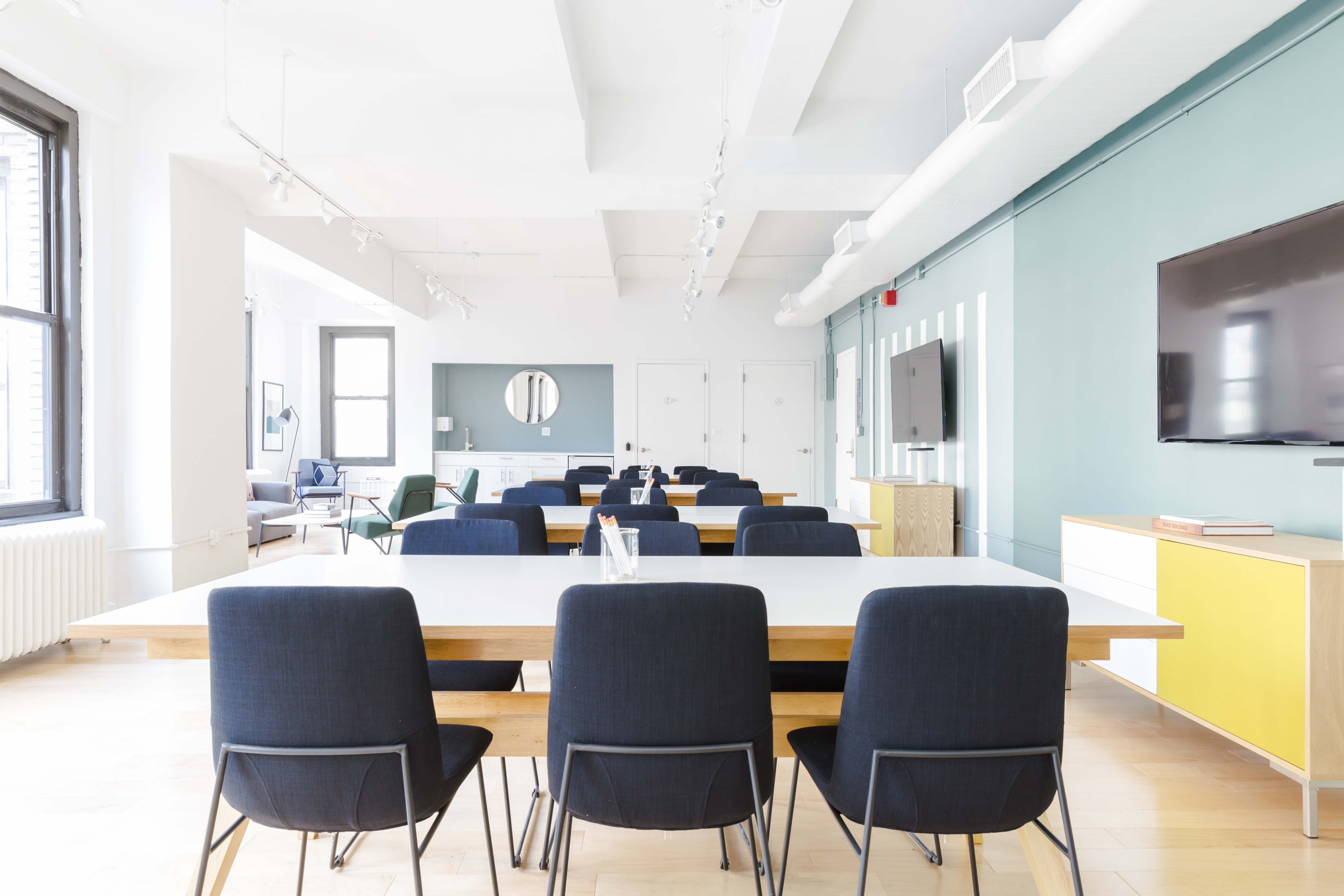 meetup space at 2 West 46th Street ,New York City