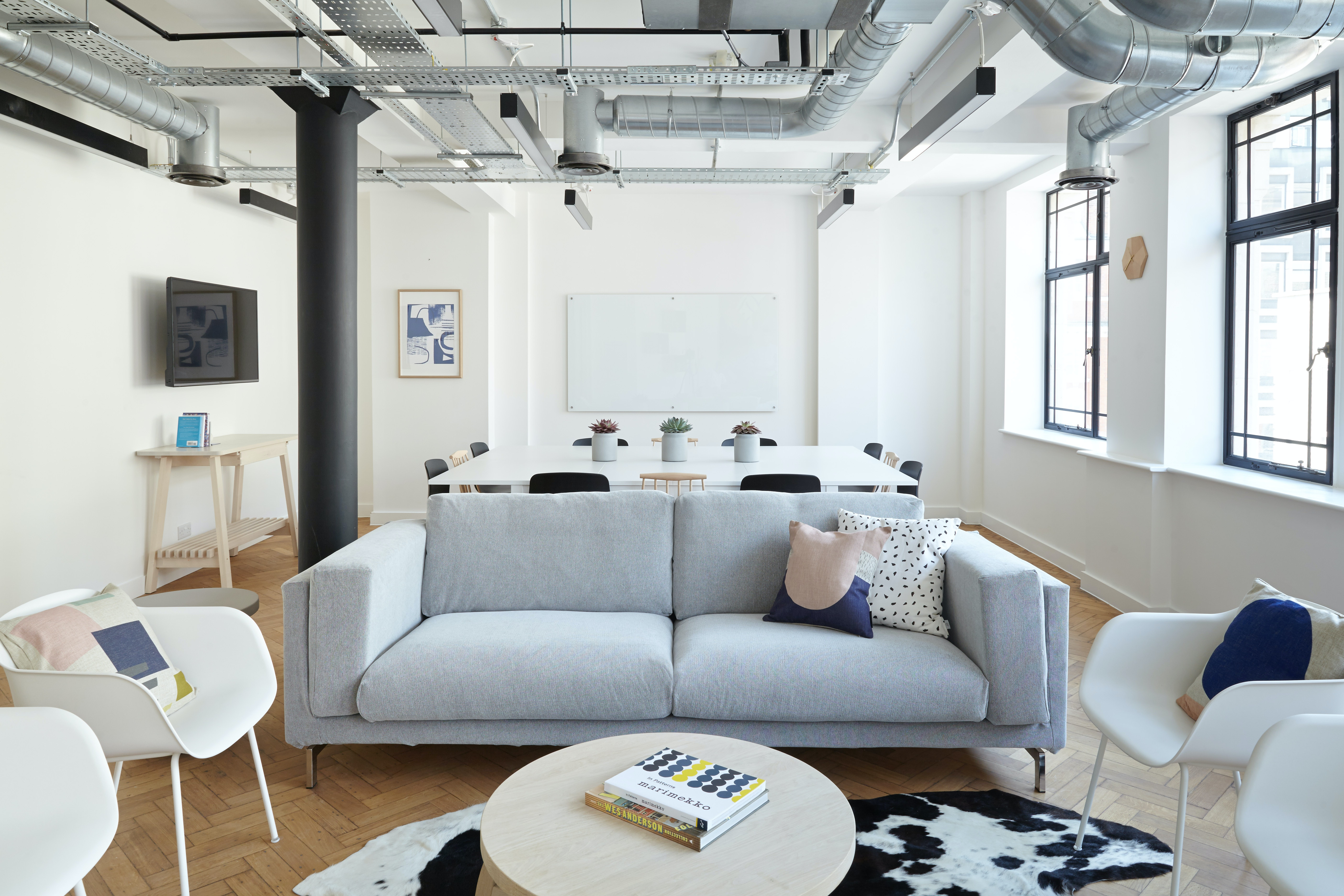 corporate-meeting space at 21 Poland Street, Soho ,London