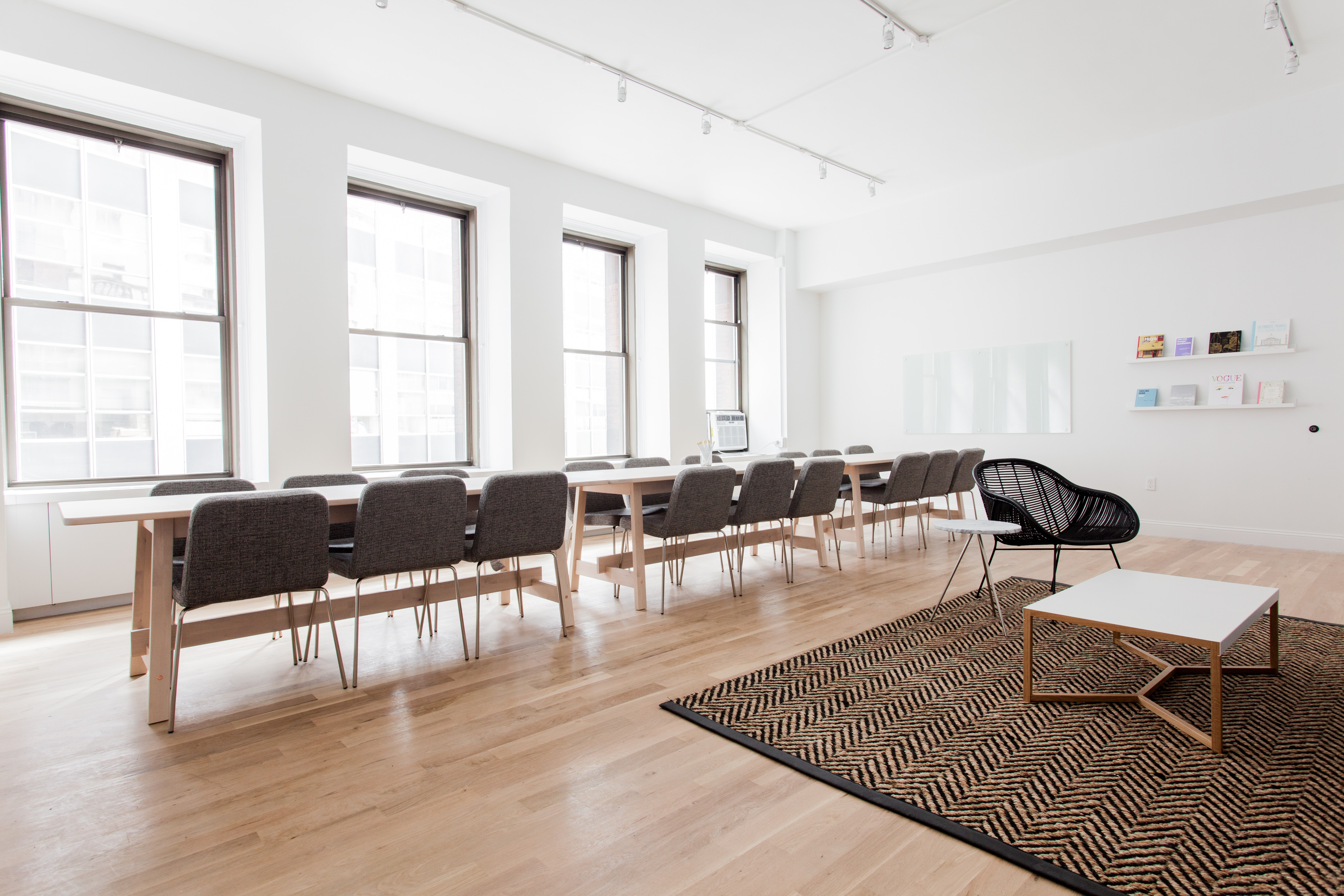 classroom space at 26 Broadway ,New York City