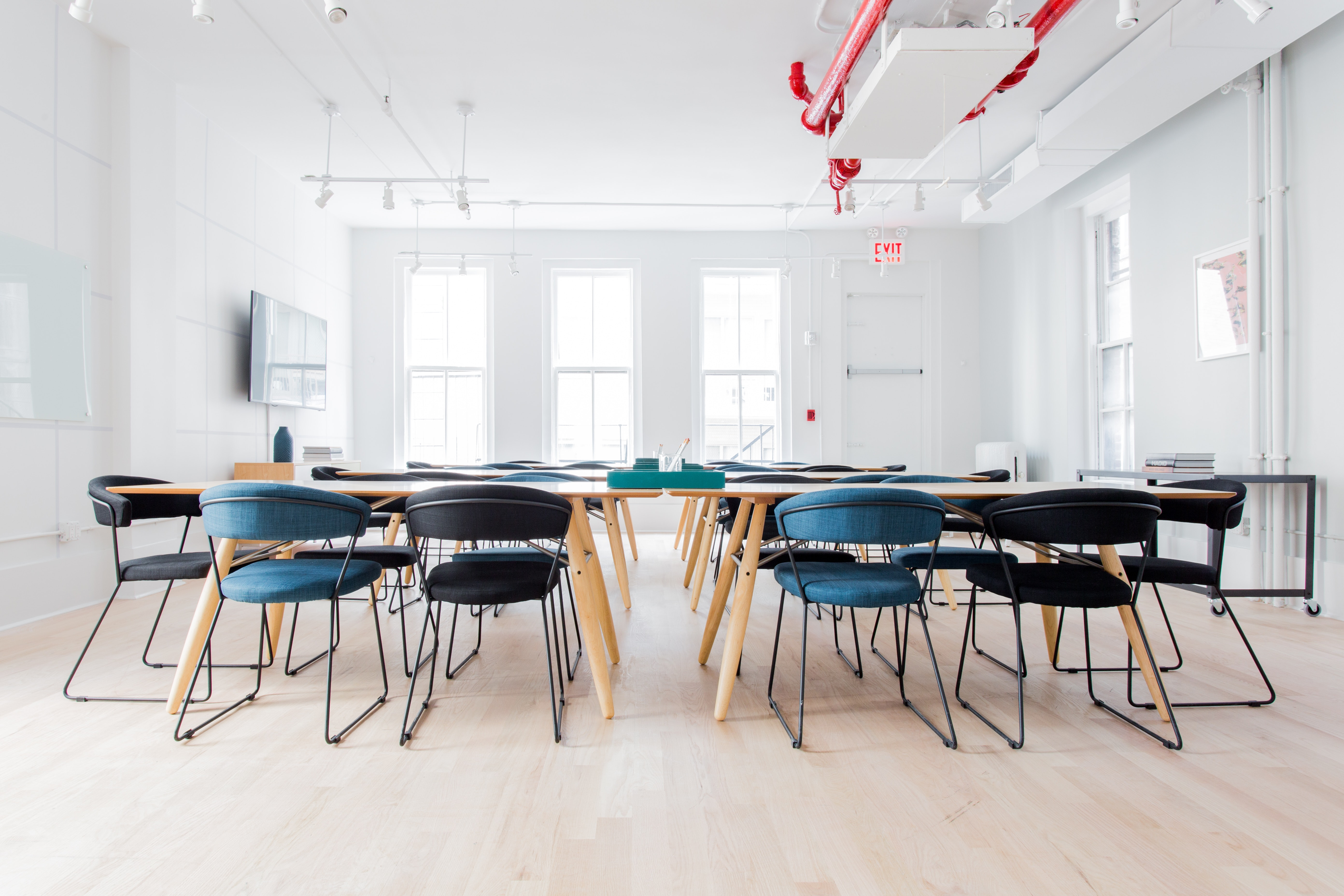 training space at 29 West 17th Street ,New York City