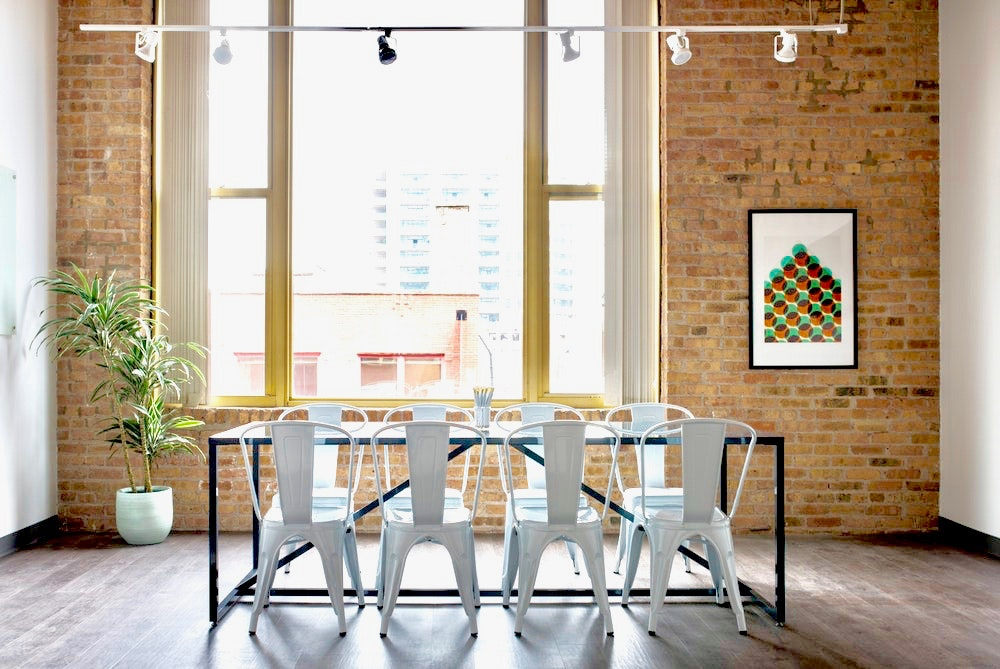brainstorming space at 343 W. Erie ,Chicago