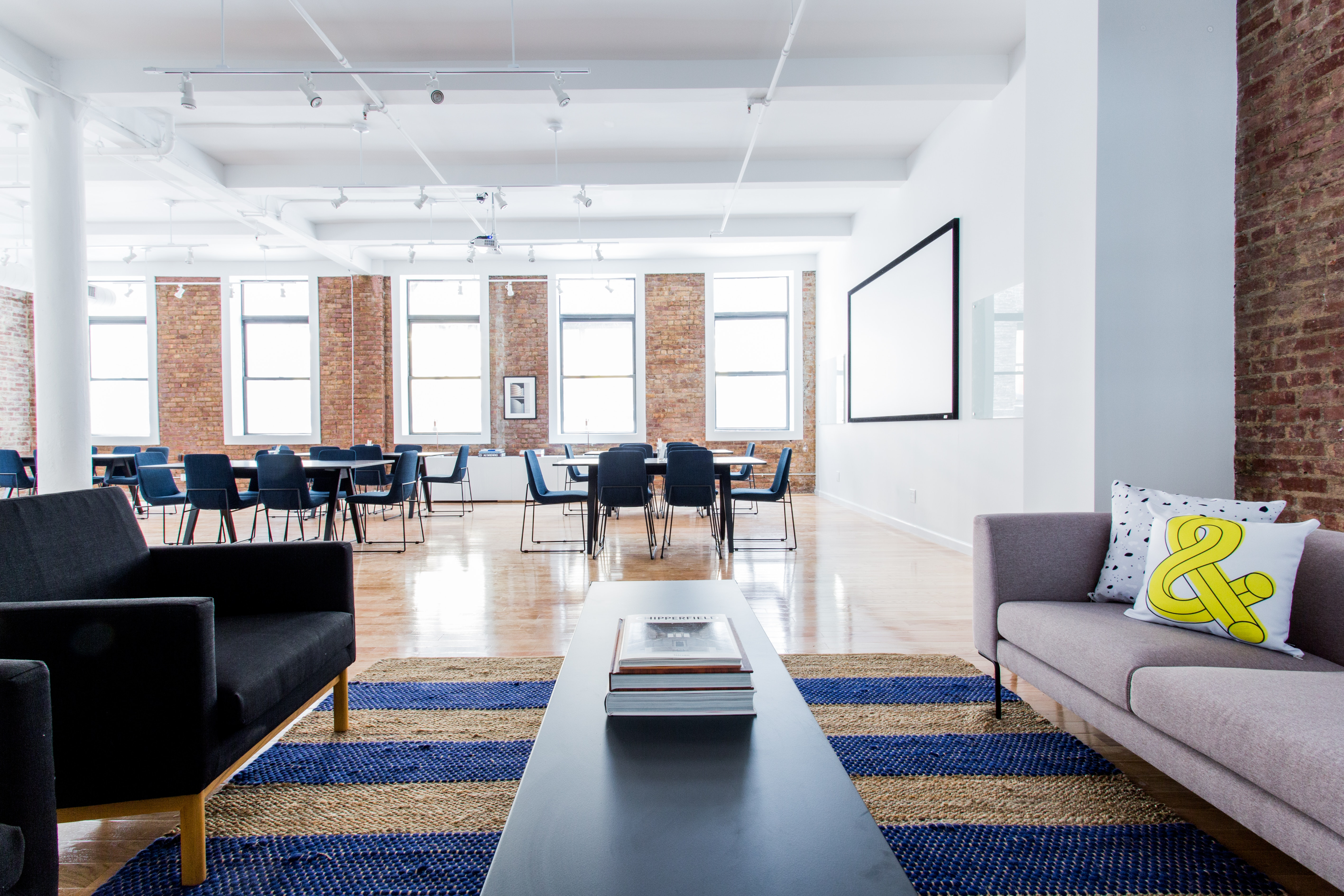brainstorming space at 37 East 28th Street ,New York City