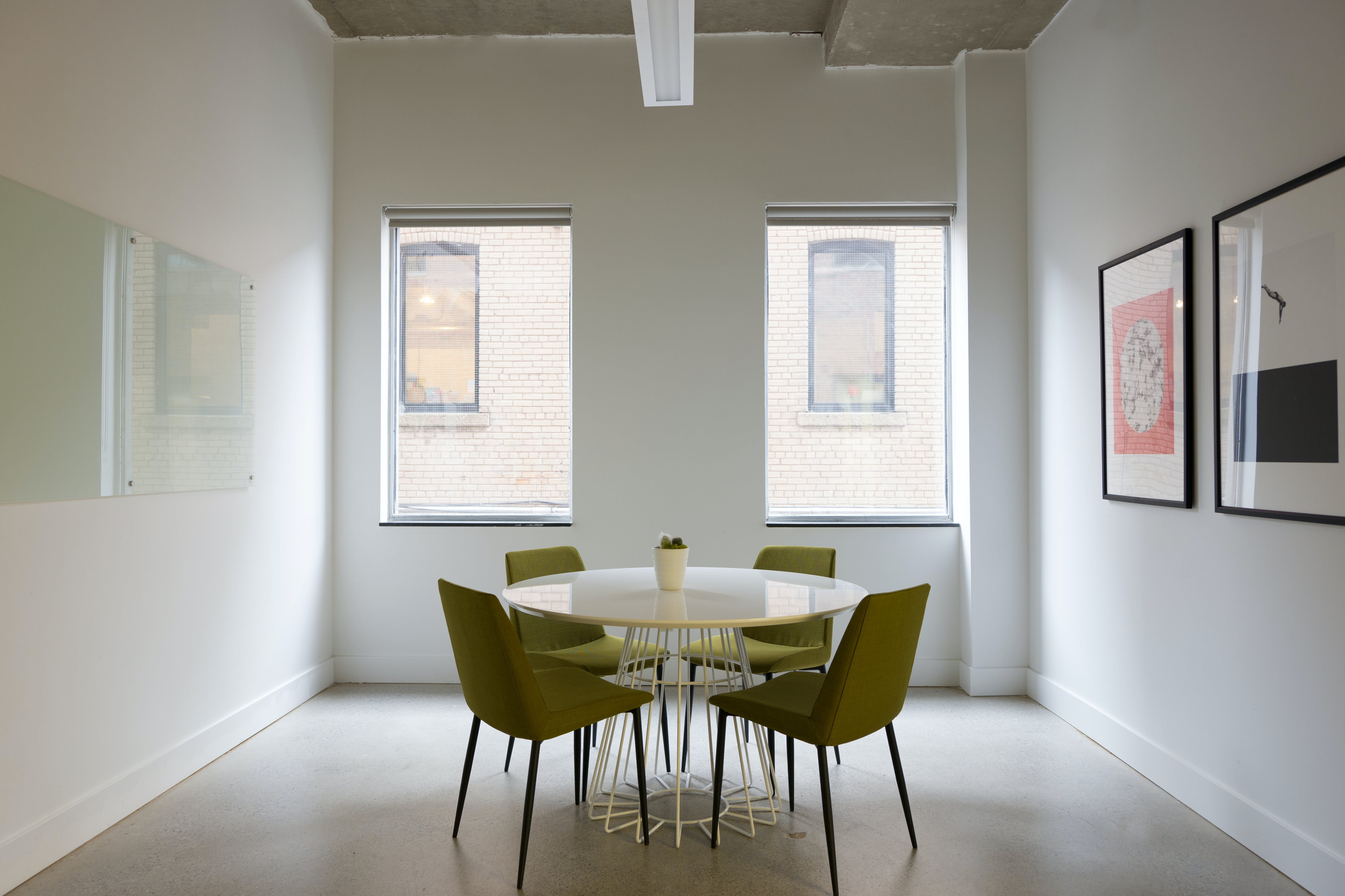 interview space at 425 Adelaide Street W.