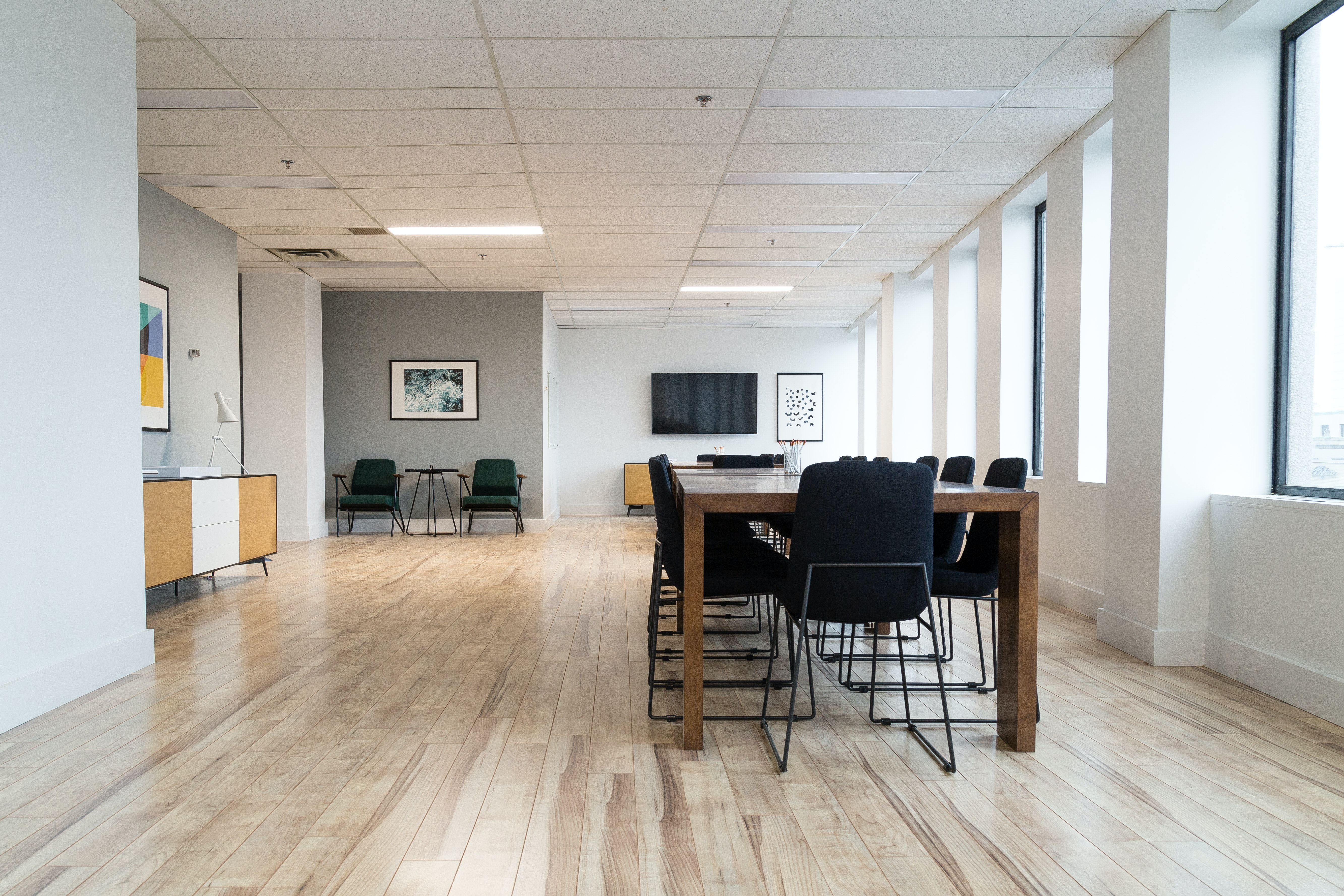 training space at 555 Boulevard René-LevesqueO. ,Montreal