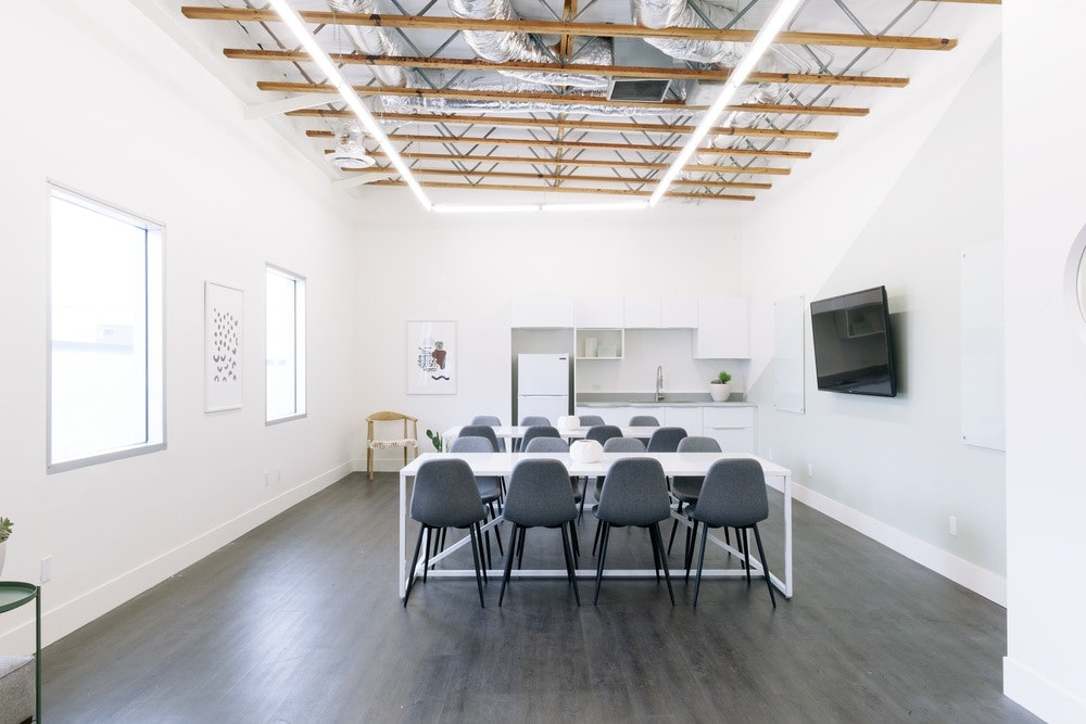 presentation space at 7561 Sunset Blvd ,Los Angeles