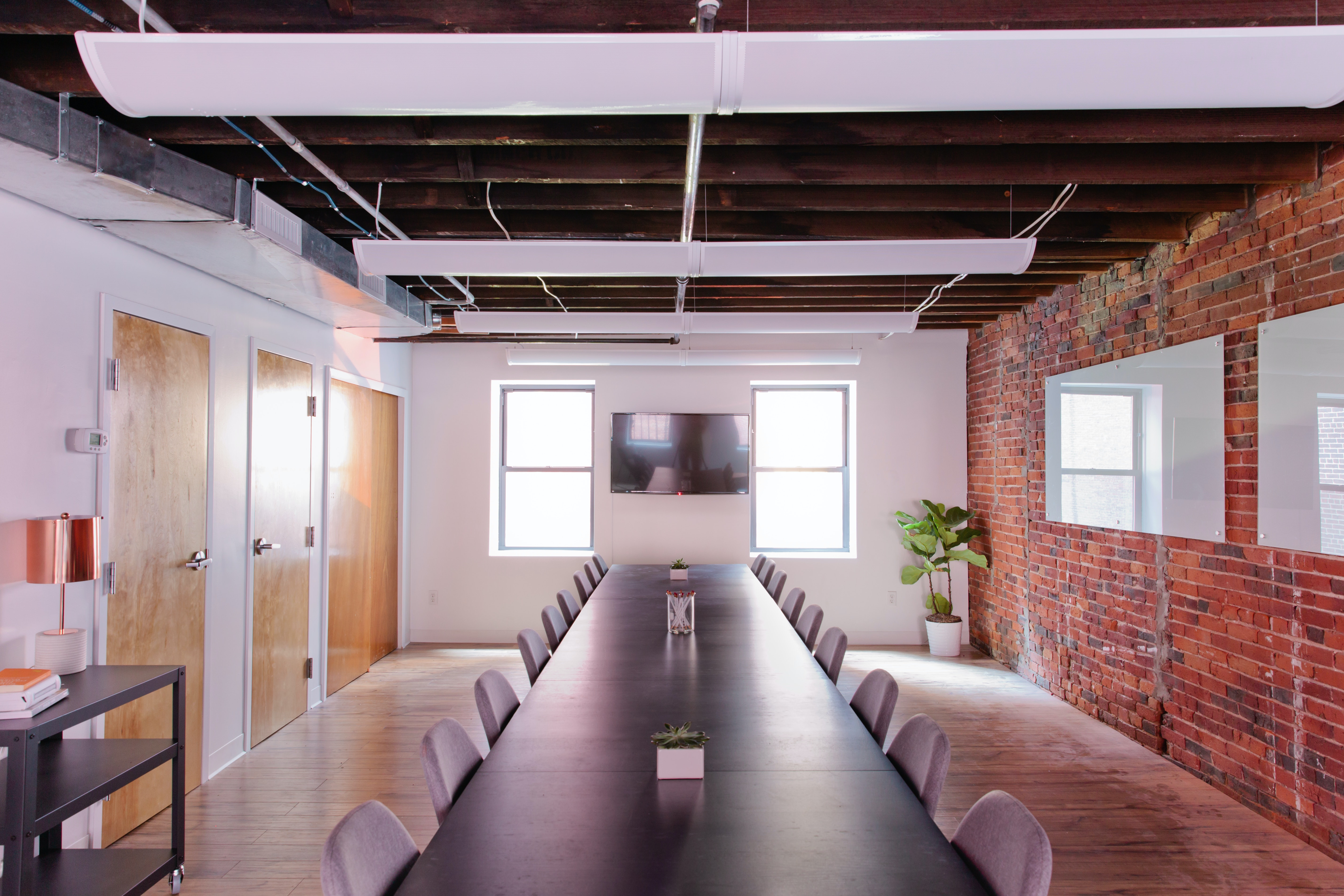 collaboration space at 87 Wendell Street ,Boston