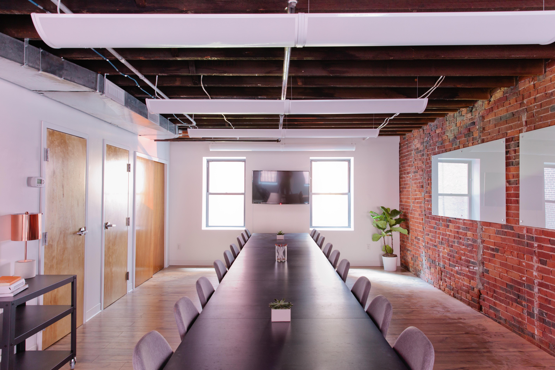 presentation space at 87 Wendell Street ,Boston