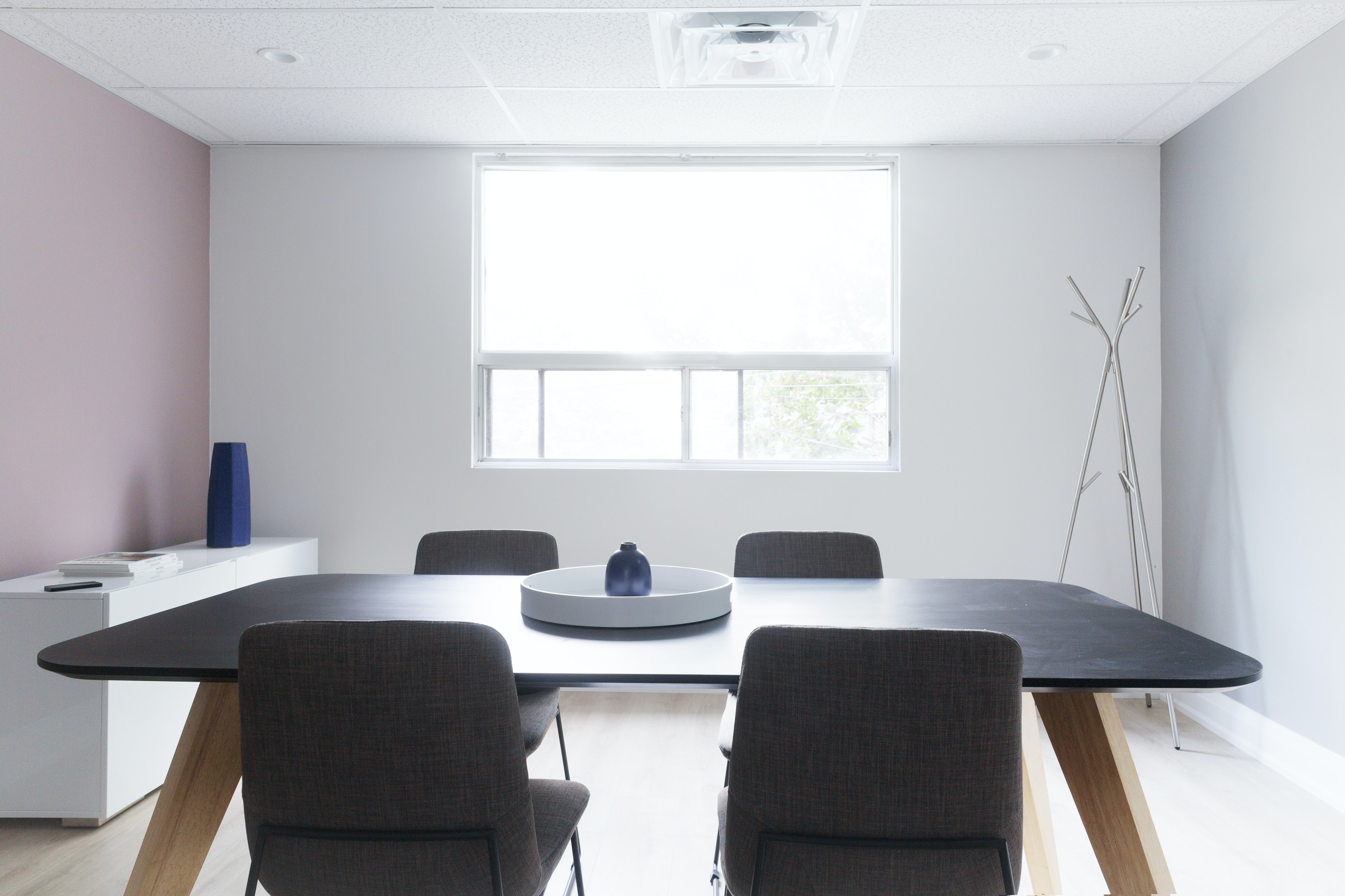 interview space at 925 Queen Street W. ,Toronto