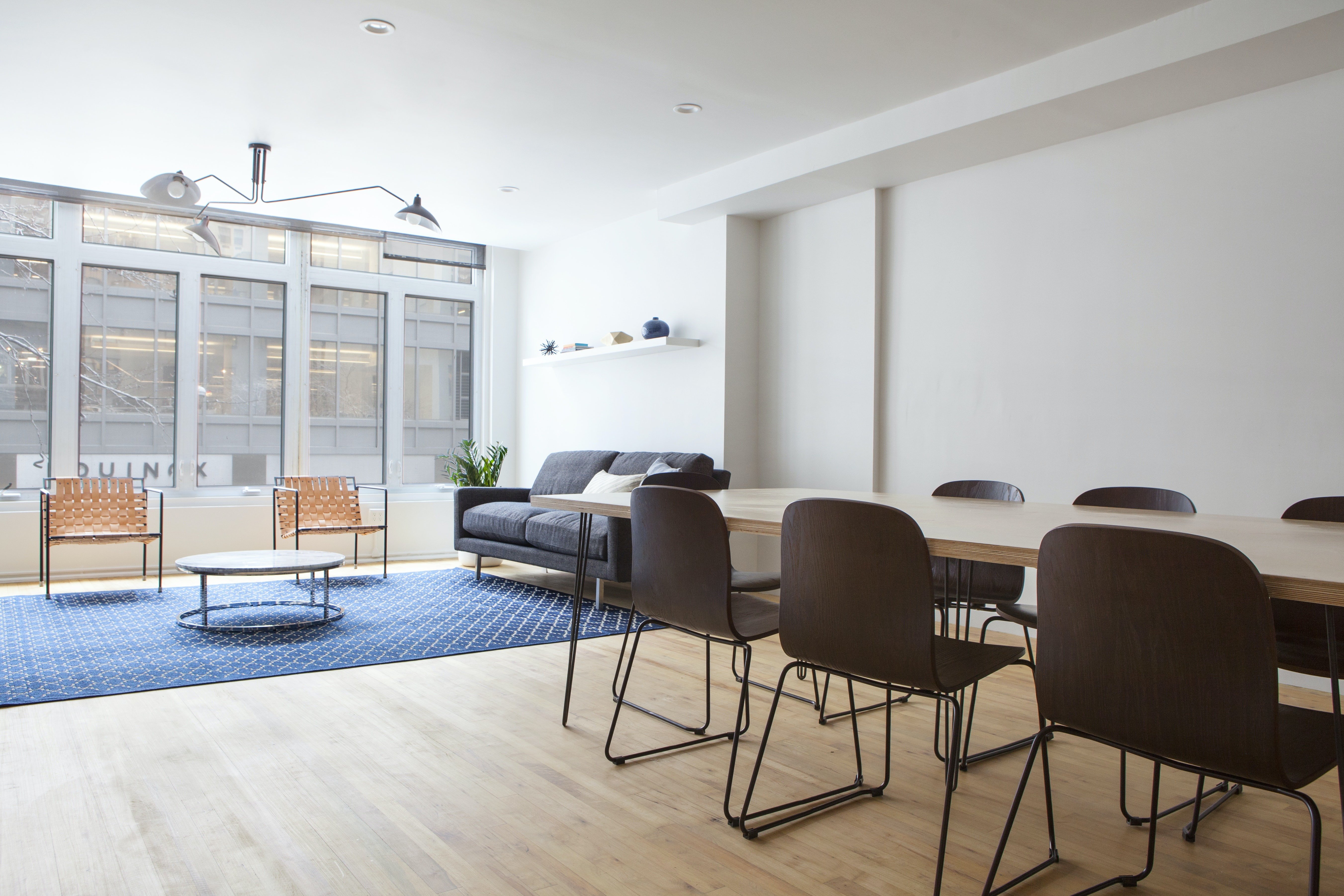 presentation space at 9 East 53rd Street ,New York City