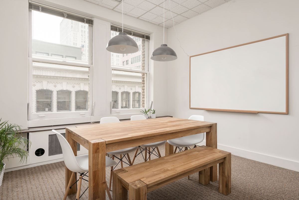 collaboration space at 55 New Montgomery ,San Francisco