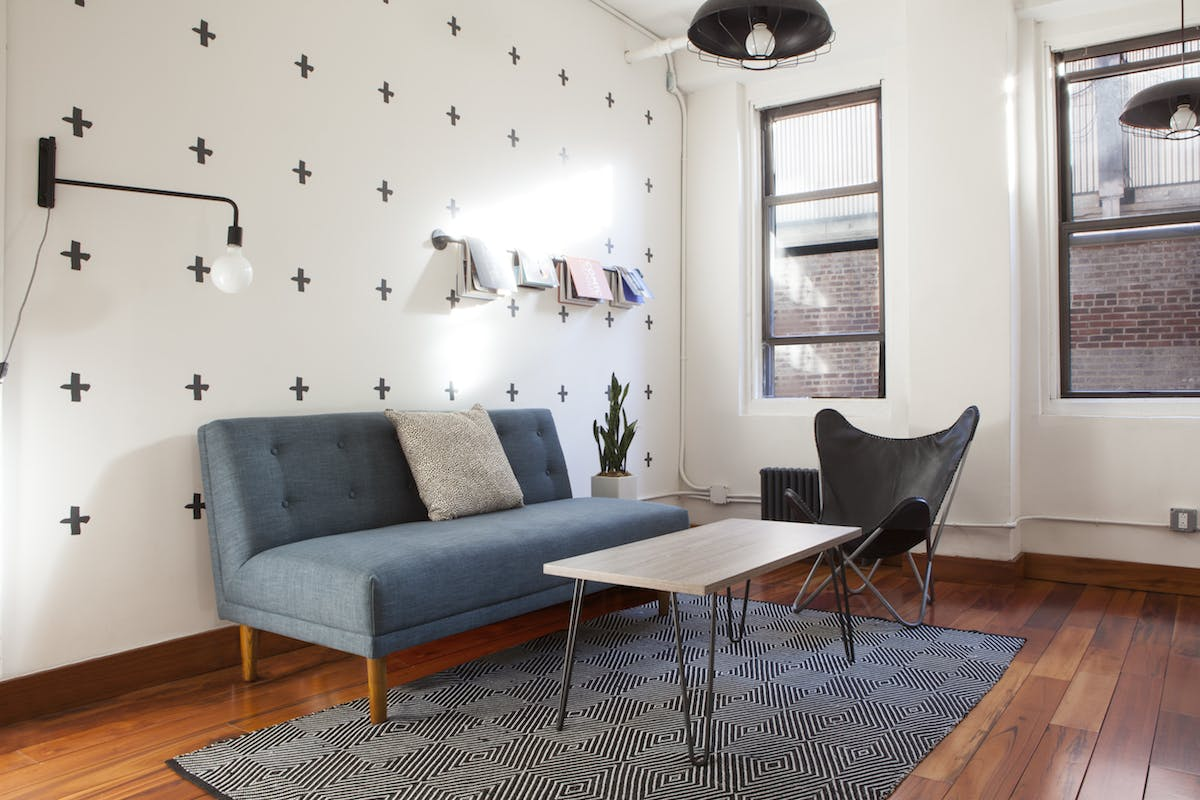 interview space at 121 East 27th Street